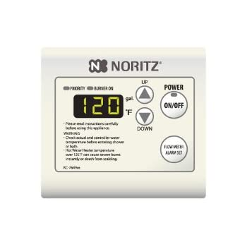 Noritz rc 7649m remote controller for tankless heaters for Rinnai r75lse