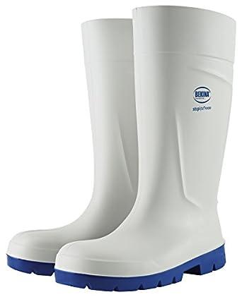Bekina - Calzado de protección para hombre, color blanco, talla 46