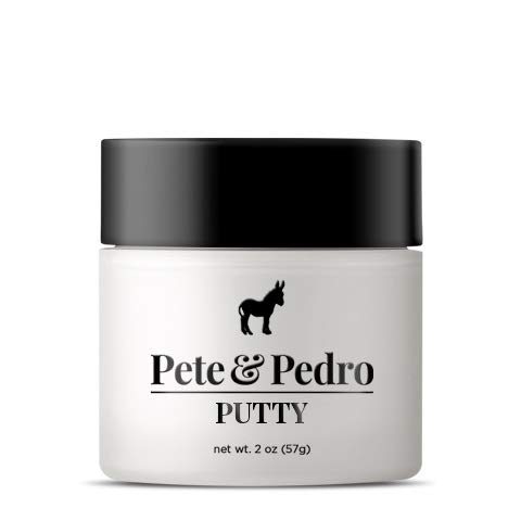 - Pete and Pedro Putty - Hair Putty for Men with Strong Hold and Matte Finish