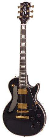 Gibson Les Paul Custom Electric Guitar, Ebony