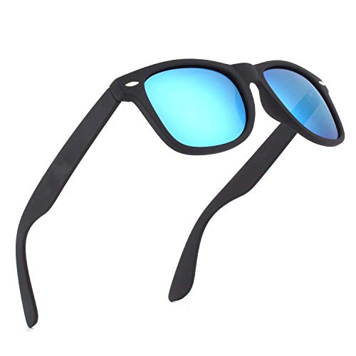 (Unisex Polarized Retro Classic Trendy Stylish Sunglasses for Men Women Driving Sun glasses:100% UV Blocking)