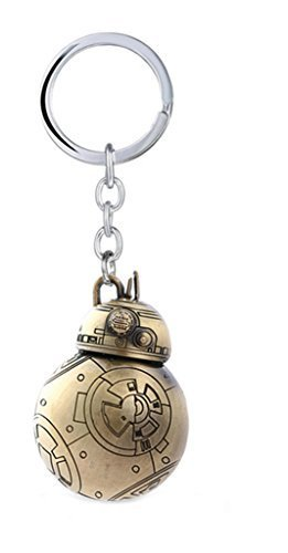 Superheroes Star Wars BB-8 Droid Keychain for Autos, Home or Boat with Gift Box