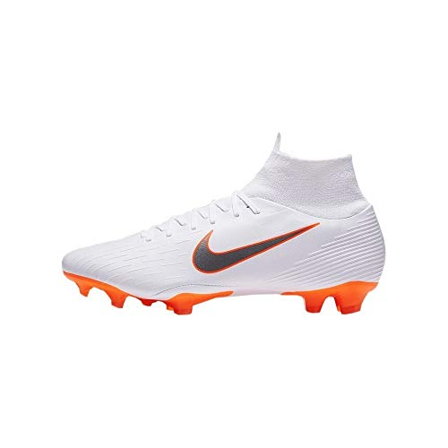 (Nike Superfly 6 Academy MG Cleats (9 D (M) US) White/Grey)