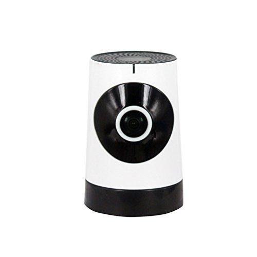 Allarme & Riduzione Del Rumore 3D Eco Cámara Ocultada Ip , 180 ° Panoramakamera 720P Hd 1 Milione Di Pixel Sistema De Cámara De Seguridad En Casa Ip Telecamera Di Sorveglianza Ip White