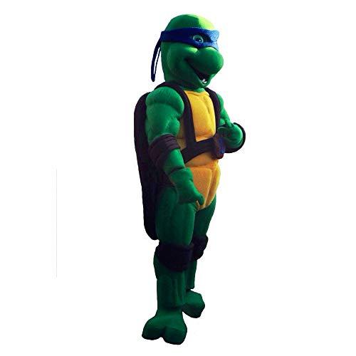 Blue Ninja Turtle Leonardo Mascot Costume Character Party Birthday Halloween -