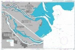 BA Chart 2807 Savannah River and Approaches including Savannah