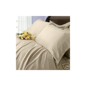 Rayon from BAMBOO Duvet cover Set - Full/ Queen Beige/ Linen 100% Viscose from bamboo 3pc duvet Set