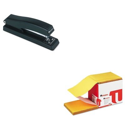 KITUNV15874UNV43118 - Value Kit - Universal Multicolor Paper (UNV15874) and Universal Economy Full Strip Stapler (UNV43118) by Universal