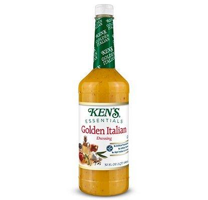 Golden Italian Dressing 32oz 6 pack by Ken's