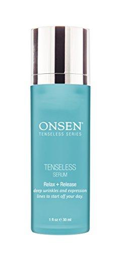 Onsen Secret Tenseless Serum Professional Grade & High Performance Made in USA