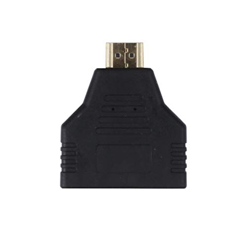 Loria 2-Port Hi-Definition 1080P Direct Two-Way HDMI Splitter Video Adapter