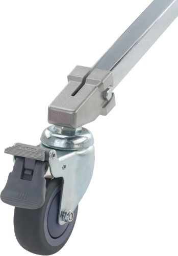 Kupo 80mm Caster with Brake, 22mm Square Adapter, Set of Three, KS940422