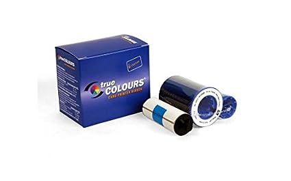 Zebra TrueColours iSeries Monochrome, Black cinta para impresora ...