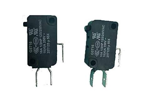 W10727360 - Interruptor de puerta para microondas Whirlpool ...
