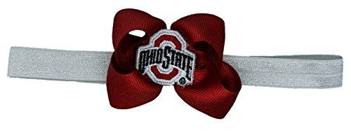 Divine Creations Ohio State Stretch Baby Headband