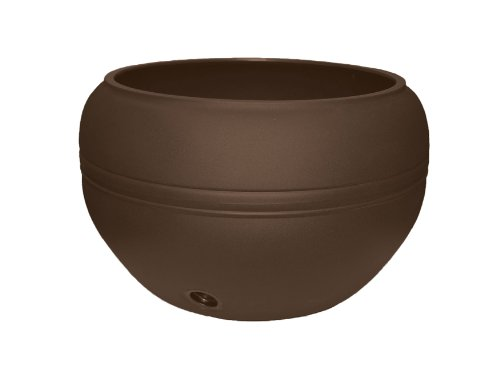 Hose Pot Lid - Tusco Products HP01ES Hose Pot, 20-Inch, Espresso