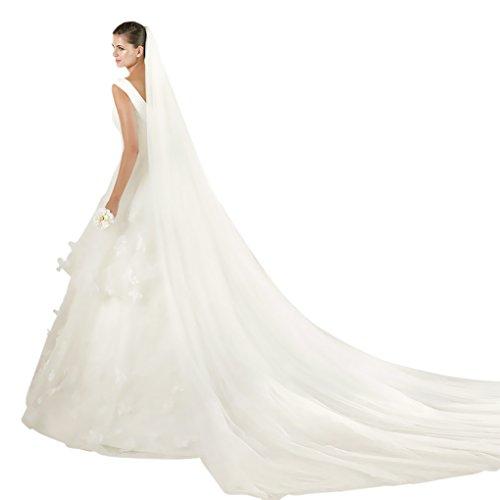 Fakeface Elegant Wedding Trailing Cathedral