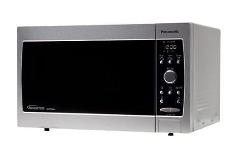 Panasonic NN-GD379S, 230 V, 50 Hz, Gris, 482 x 364 x 284 mm ...