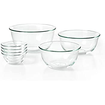 31be3c8410d Amazon.com  OXO Good Grips 7 Piece Glass Bowl Set  Kitchen   Dining