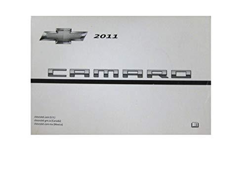 2011 Chevrolet Camaro Owners Manual Guide Book