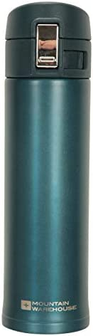 Mountain Warehouse Metallic Flask -Double Walled Water Bottle for Gym