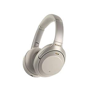 Sony WH-1000XM3 Casque Bluetooth à réduction de bruit sans fil avec micro pour appels téléphoniques, Alexa et Google…