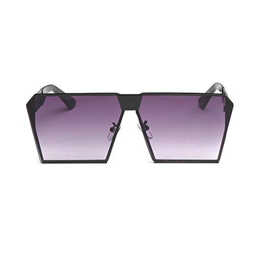 carrées lunettes miroir lunettes de hommes femmes métal luxe de K classique cadre GAOLIXIA soleil mode aviateur soleil ton de lunettes voyage nFg8Zxq