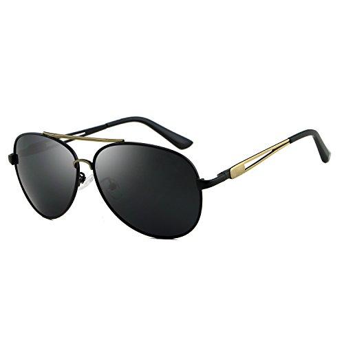 Pantalones Color Gafas para Sol de Gafas de de Sol Hombre Hombres diseñador Baianf para Marca Retro aviación de Vendimia Gold Accesorios polarizadas de la de Gafas Silver la Odq4xWwAI