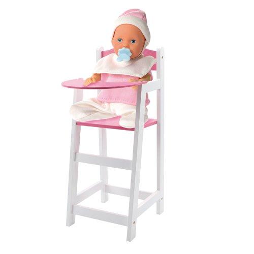 Speelgoed GL301B - Puppenmöbel Kinderstuhl 22 x 27 x 63 cm