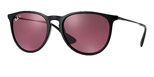 Ray Ban Erika Sunglasses Solid Purple - Erika Ray Purple Ban Sunglasses