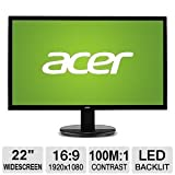 Acer 21.5 LED Widescreen Monitor | K222HQL