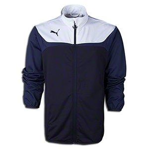 Puma Men's Esito 3 Tricot Jacket, Youth Large, Power Green-White ()