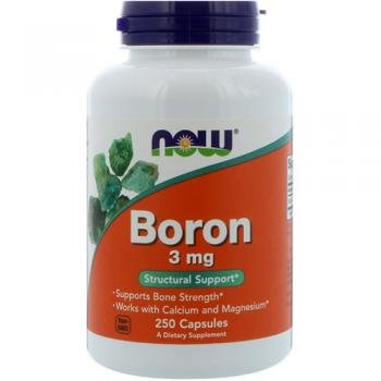 BORON 3 mg 100 Caps by Now Foods