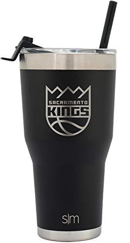 (Simple Modern Sacramento Kings 30oz Cruiser Straw Tumbler - NBA )