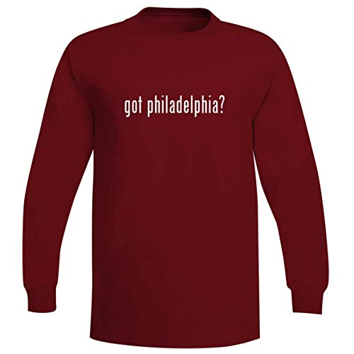 got Philadelphia? - A Soft & Comfortable Men's Long Sleeve T-Shirt, Red, XXX-Large