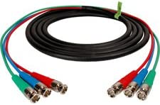 Canare 3-Channel BNC Snake Cable 50Ft-by-TECNEC