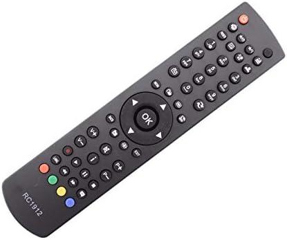 Frompt2y Telecomando di ricambio per televisori LCD TV RC1912 [Non richiede configurazione o programmazione – 2 batterie AA incluse]