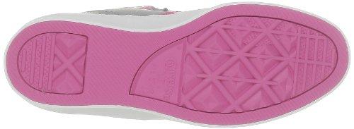 Converse As 12 Leath Mid 236120-52-121 - Zapatillas para mujer Gris (Grau (Gris/Rose))