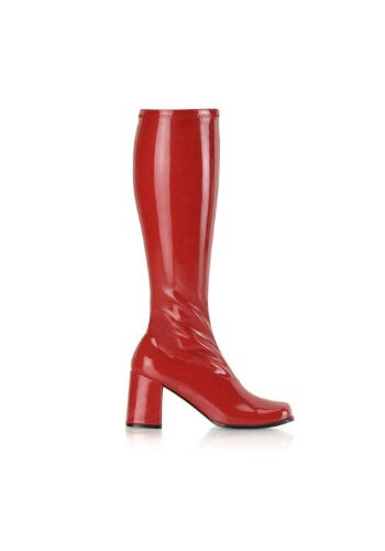 Lacquer Funtasma Boots Ankle Gogo Women's 300 Red qwXqB4