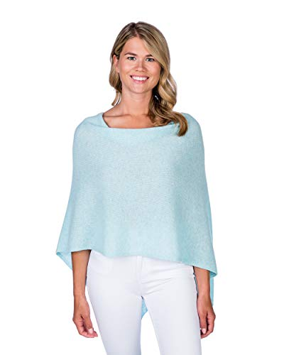Alashan Cashmere Claudia Nichole Cashmere Draped Dress Topper - Opal/2306 ()