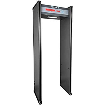 Walk-Through Metal Detector for Use in Concealed Weapon and Contraband Detection