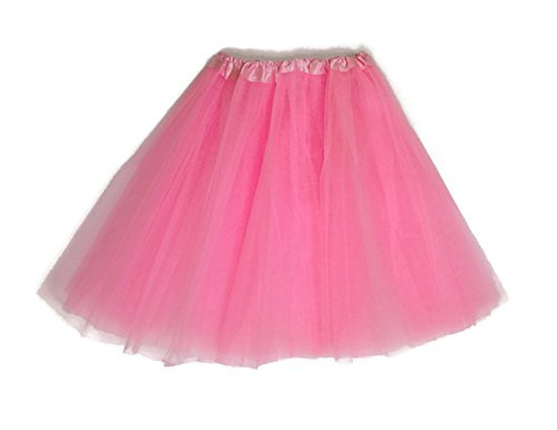 Mens Pink Tutu Adult Costumes (Rush Dance Women's EXTRA PLUS SIZE XXL Costume Ballet Warrior Dash Run Tutu (Extra Plus, Light Pink))