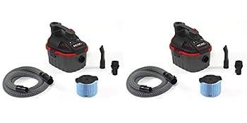 Ridgid 50313 4000RV Wet/Dry Vacuum, 4 gal, Red (Pack of 2)