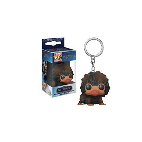 Funko 32769 Pocket POP - Llavero con diseno de bestias de bebe, color marron, 1 unidad