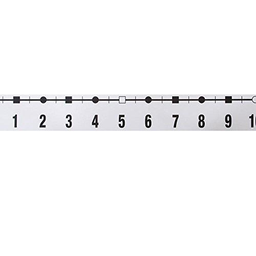 - ETA hand2mind -39 to 185 Demonstration Number Line, 4