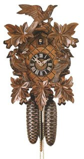 Black Forest Cuckoo Clock 8 Day Wind 19 Inch