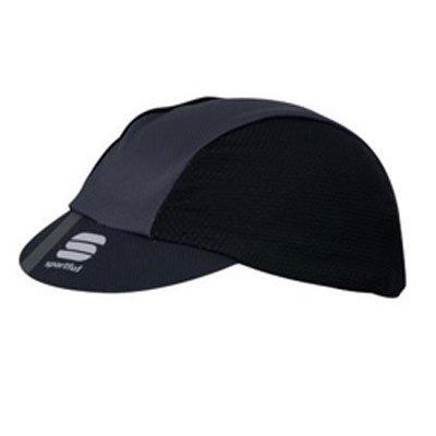 幻想的評議会レコーダーSPORTFUL(スポーツフル) 18 GIARA CAP BLK/BLK サイクリングキャップ