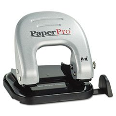 Two-Hole Punch, 20 Sheet Capacity, Black/silver By: PaperPro