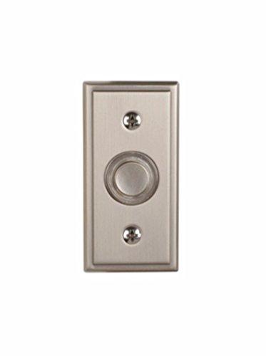 Utilitech Satin Nickel Doorbell Button Item # 163362 Model # UT-708-02