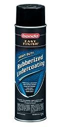 Bondo 737 Rubberized Undercoat Aerosol - 18 oz. (Pack of 6)